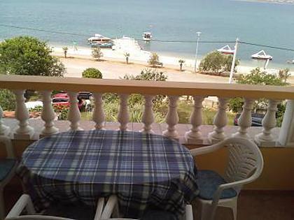 A1(5+2): terrace view - 5484  A1(5+2) - Vrsi - Vrsi - rentals