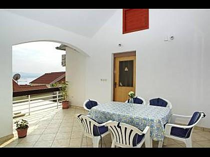 A2 zapad(4): terrace - 5488 A2 zapad(4) - Bol - Bol - rentals