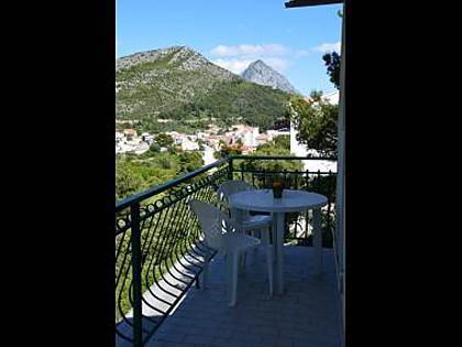 A3(2+2): terrace - 5512  A3(2+2) - Drvenik - Drvenik - rentals
