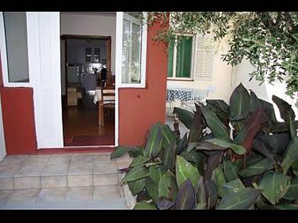 A1 mali(2+1): terrace - 5542 A1 mali(2+1) - Preko - Preko - rentals