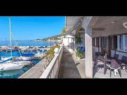 A1(6): terrace view - 5547  A1(6) - Sumpetar - Sumpetar - rentals