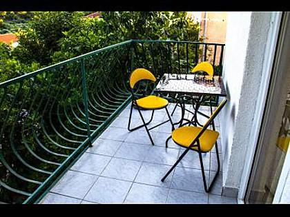 SA2(2+1): terrace - 5569  SA2(2+1) - Okrug Donji - Okrug Donji - rentals