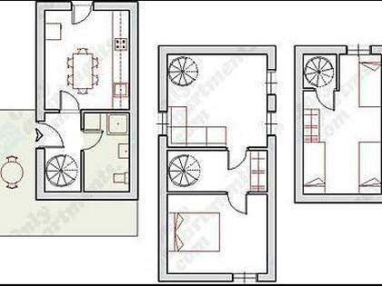 A1(5+2): floor plan - 5606 A1(5+2) - Trogir - Trogir - rentals
