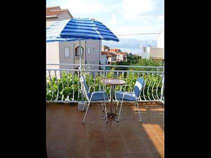 SA1(2): terrace - 5644  SA1(2) - Supetar - Supetar - rentals