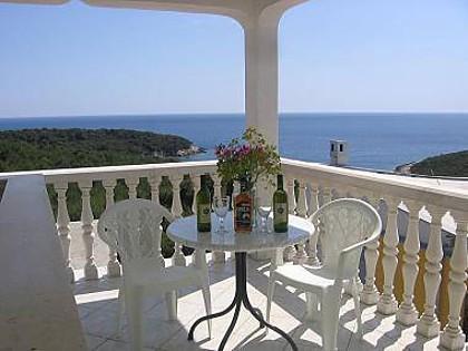 A9(2+2): terrace - 00404RUKA A9(2+2) - Cove Rukavac - Rukavac - rentals