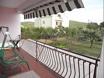 A2 Zapadni (2+3): terrace - 5660 A2 Zapadni (2+3) - Ljubac - Zadar County - rentals