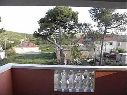 A1(2+2): terrace - 5665 A1(2+2) - Ljubac - Zadar County - rentals