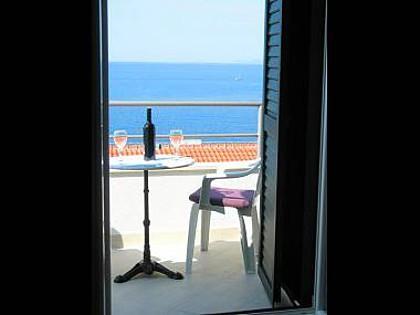 A1(2+2): terrace view - 5686 A1(2+2) - Milna (Hvar) - Milna - rentals