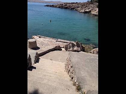 beach - 5797 Rozi(2+2) - Ribarica - Croatia - rentals