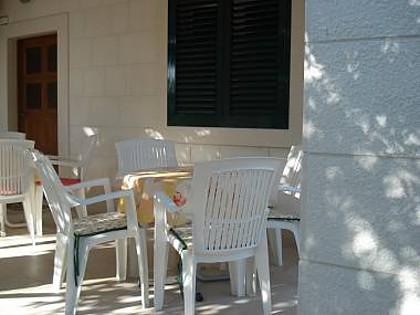 A2 prizemlje(2+1): garden terrace - 01413PODG  A2 prizemlje(2+1) - Podgora - Podgora - rentals