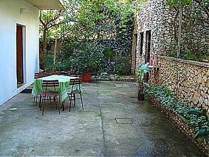 garden terrace (house and surroundings) - 01113IGRA  A2(2+2) - Igrane - Igrane - rentals