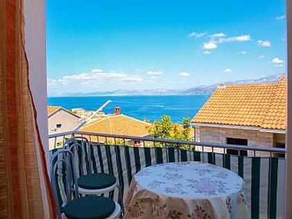 A1(4): balcony - 5936  A1(4) - Postira - Postira - rentals