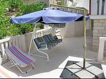 H(10+2): terrace - 5943 H(10+2) - Cove Ljubljeva (Vinisce) - Vinisce - rentals