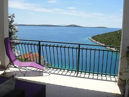 A1 relax1(4+2): terrace view - 5967 A1 relax1(4+2) - Cove Ljubljeva (Vinisce) - Vinisce - rentals