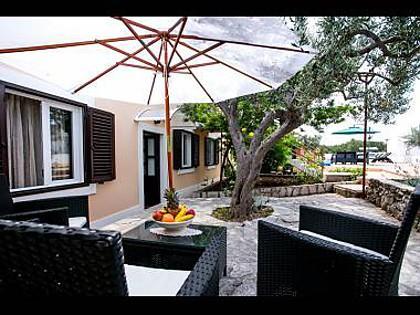 H(11): garden terrace - 00201MILN H(11) - Milna (Brac) - Milna (Brac) - rentals