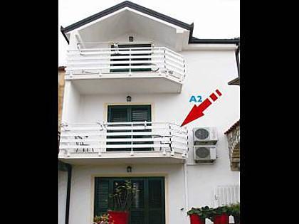 A2(2) Pink: apartment - 00913GRAD A2(2) Pink - Gradac - Gradac - rentals