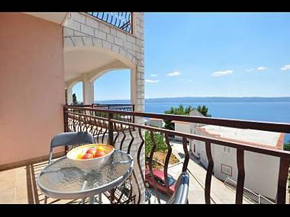 A2 Vila Jadrana(2+2): terrace - 6099 A2 Vila Jadrana(2+2) - Suhi Potok - Croatia - rentals