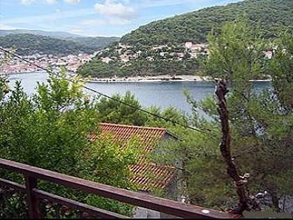 A1(4+1): terrace view - 6116 A1(4+1) - Pucisca - Pucisca - rentals
