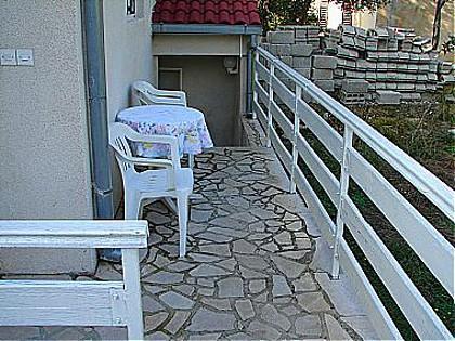 SA2(2): terrace - 01313GRAD SA2(2) - Gradac - Gradac - rentals