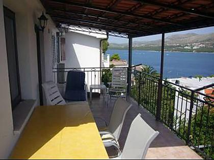 A1(4): terrace - 6140 A1(4) - Okrug Donji - Okrug Donji - rentals