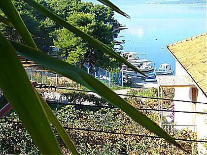 A1(4+1): terrace view - 01812TROG A1(4+1) - Trogir - Trogir - rentals