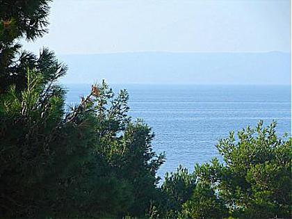 A2(4+1): terrace view - 00613MAKA A2(4+1) - Makarska - Makarska - rentals