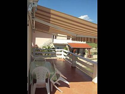 MIJO(4): terrace - 6811 MIJO(4) - Vrsi - Vrsi - rentals