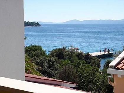 A3 Crno bijeli (4+1): terrace view - 7148  A3 Crno bijeli (4+1) - Petrcane - Petrcane - rentals