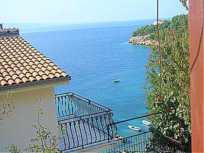 A1(5): terrace view - 00309STAN  A1(5) - Stanici - Stanici - rentals