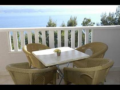 A3(2+2): balcony - 7237 A3(2+2) - Stanici - Stanici - rentals