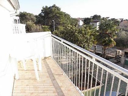 A2(3+2): terrace - 7248 A2(3+2) - Brodarica - Brodarica - rentals