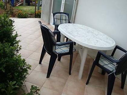 A4(2+1): terrace - 7254 A4(2+1) - Tribunj - Tribunj - rentals