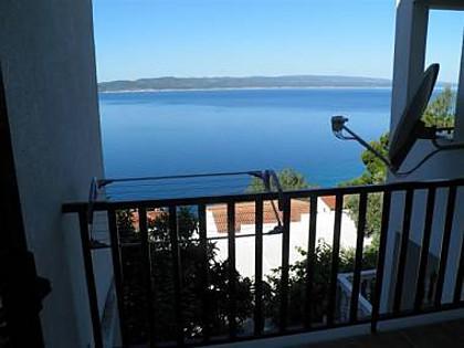 SA5(2): terrace view - 00513BREL  SA5(2) - Brela - Brela - rentals