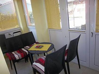 A1(3+3): indoor terrace - 7300 A1(3+3) - Stinjan - Croatia - rentals