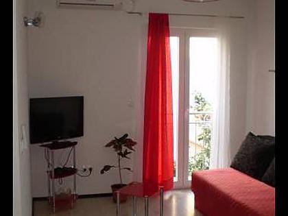 A1(4+1) Crveni: living room - 8015 A1(4+1) Crveni - Biograd - Biograd - rentals