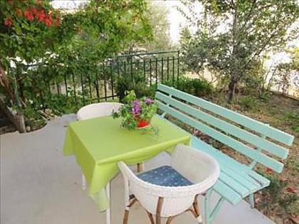A4Prizemlje(2+2): garden terrace - 2911 A4Prizemlje(2+2) - Makarska - Makarska - rentals