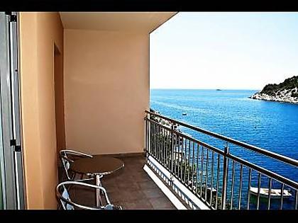 H(9): terrace - 8035 H(9) - Cove Stivasnica (Razanj) - Razanj - rentals