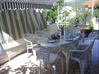 A1(2+3): terrace - 8072  A1(2+3) - Gornji Karin - Obrovac - rentals