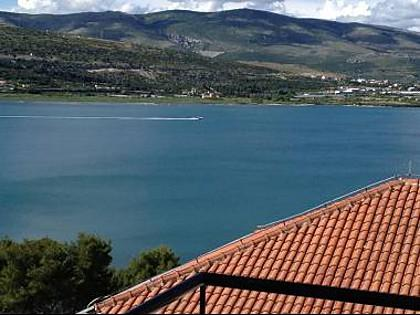 A1 (6): terrace view (house and surroundings) - 8081 A1 (6) - Trogir - Trogir - rentals