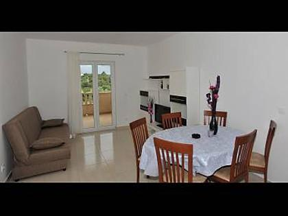 1A(4+1): living room - 8100 1A(4+1) - Supetar - Supetar - rentals