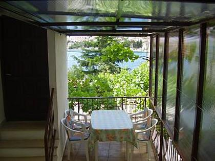 A4(2+3): terrace - 8098 A4(2+3) - Okrug Gornji - Okrug Gornji - rentals