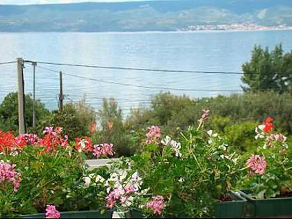 A3(3+2): balcony view - 8101 A3(3+2) - Duce - Duce Luka - rentals
