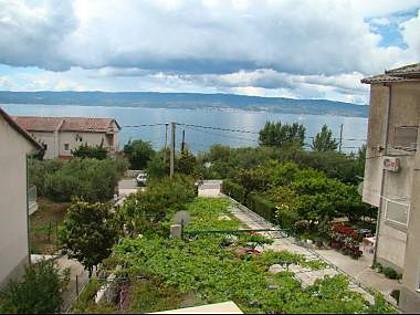 SA2(2+2): terrace view - 8101 SA2(2+2) - Duce - Duce Luka - rentals