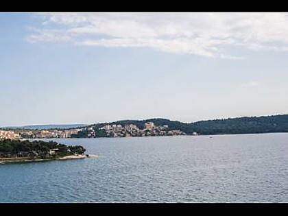 A7(2+2): terrace view - 001TROG A7(2+2) - Trogir - Trogir - rentals