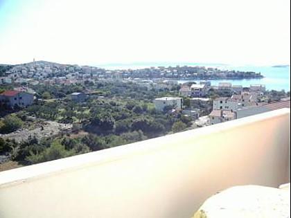 A3(4+1): terrace view - 8124 A3(4+1) - Seget Vranjica - Seget Vranjica - rentals