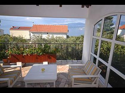 A1(4): terrace view - 8142 A1(4) - Splitska - Splitska - rentals