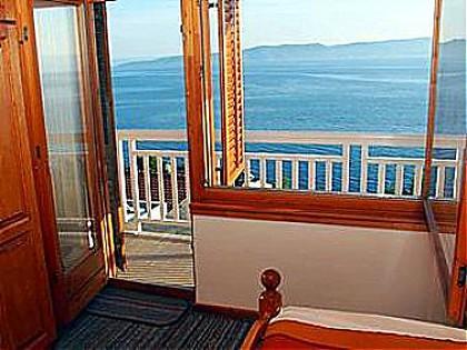 A2(4+2): window view - 00713BREL A2(4+2) - Brela - Brela - rentals