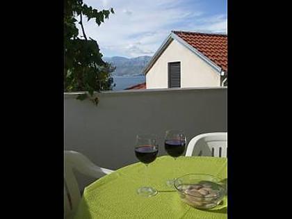 A1(2+2): terrace - 8199  A1(2+2) - Postira - Postira - rentals