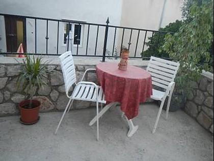 A1(2): terrace - 8214 A1(2) - Mali Losinj - Mali Losinj - rentals