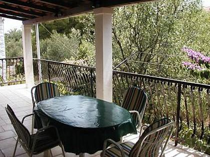A1(4): terrace - 8227 A1(4) - Supetar - Supetar - rentals